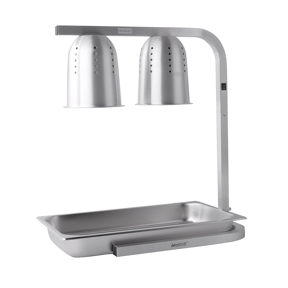 Infrared Food Warmer With Pan iMettos